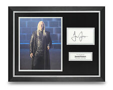 Jason Isaacs Signed Photo Framed 16x12 Autograph Actor Memorabilia COA