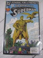The Adventures of Superman   Funeral For a Friend #5 (499) Bagged - C722