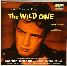 THE WILD ONE with Marlon Brando Jazz themes by Leith Stevens All Stars 1954 LP