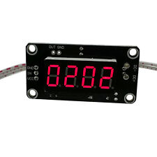 1PCS 12V Hall tachometer display module Stopwatch speed counting module