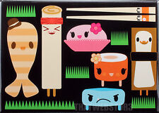 Bored Inc. Sushi Friends Refrigerator Magnet ~ Officially Licensed ~ New