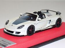 1/43 Tecnomodel Porsche Carrera GT Spider in Fuji White Leather Limited to 25
