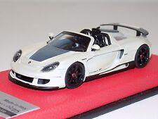 1/43 Tecnomodel Porsche Carrera GT Spider in Fuji White Leather Limited to 25