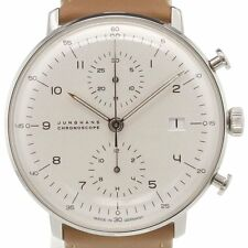 Junghans Max Bill Chronoscope - 027/4502.00 - Neu mit Box & Papieren