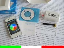 mini IPHONE IPAD iOS ANDROID CONTROLLER WIFI PER STRISCE STRIP LED RGB WIRELESS