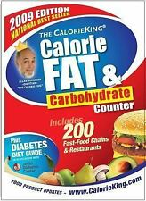 Calorie, Fat and Carbohydrate Counter by Allan Borushek (2008, Paperback,...