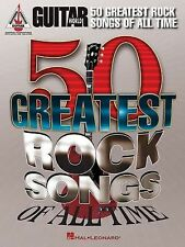 Guitar World's 50 Greatest Rock Songs of All Time (2013, Paperback)