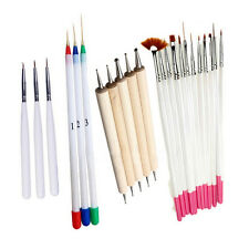 23pcs Nail Art Pittura Pennelli Penna EJ dettagli Bundle Tool Kit Set utile