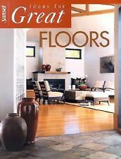 Sunset Ideas for Great Floors (2002, Paperback, Illu...