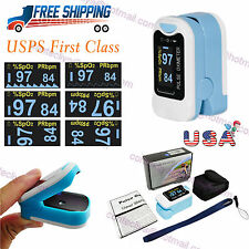USA OLED Heart Pulse Rate Blood Oxygen Sensor Paitent Monitor SPO2 Finger Meter