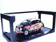TC63 NEW Fiat 500 Wroom Kimi Raikkonen 1:18 1/18 Orange Diecast Car Model Norev