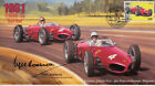 1961 FERRARI 156 (Shark Nose), SPA-FRANCORCHAMPS F1 cover signed ROEBUCK