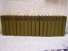 MARK TWAIN'S WORKS c1900 17 Volume Set AUTHORIZED UNIFORM HILLCREST EDITION