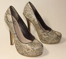 Miss KG Kurt Geiger snake skin effect high heels uk 3 eu 36