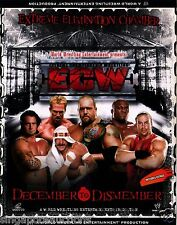 2006 WWE / ECW - DECEMBER TO DISMEMBER (ORIGINAL 3 X VCD SET)