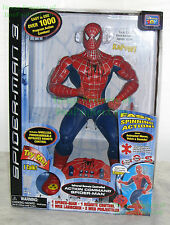 "Spider-Man 3 Action Command Figure 16"" MIB New ThinkWay MINT Collectible! +Extra"