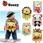 Sozzy Cute Children Kids School Backpacks With 26cm Animal Figure Plush Doll Bag