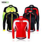 2016 Mens Cycling Jersey Long sleeve Winter Fleece Thermal Cold Wear Cycling Top