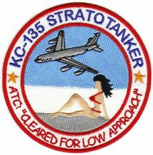KC-135 STRATOTANKER PATCH, RED BIKINI ON THE BEACH    Y