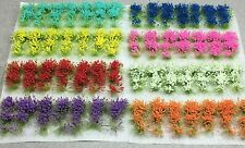 Miniature Model Self Adhesive 6mm Static Grass Tufts - Wild Grass Flower Sampler