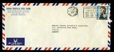 HONG KONG 1965 TROPICAL FISH FARM AIRMAIL ENVELOPE ANNIGONI $1.30