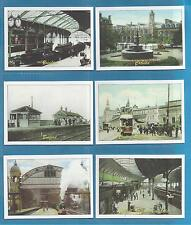 cigarette/trade cards - VICTORIAN RAILWAY STATIONS - Full mint condition set