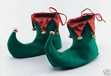 Elf Shoe Covers  ~ Santa's Helper  ~ Christmas  ~  Red and Green