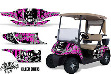 EZ GO Golf Cart Wrap Graphics Vinyl Sticker Decal Kit EZGO 1996-2010 CIRCUS PINK