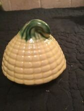 Vintage Stanfordware Corn Cob  Sugar Bowl LID ONLY!!!!  RETRO KITCHEN Yellow