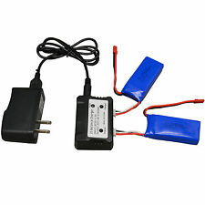 Fast 2in1 7.4V/2A 1200mAh Battery Charger Adapter Kit For JJRC X1 X1C X1D Drone