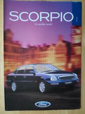 FORD Scorpio 1996 orig UK Market brochure with 2.3i engine