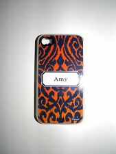 "PERSONALIZED NAME COVER FOR IPHONE 4/4S WITH 2 LAYERS OF PROTECTION ""AMY"" NEW"