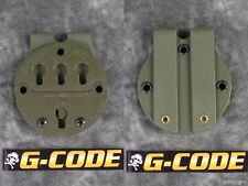 NEW G-CODE RTI HOLSTER BATTLE BELT MOLLE MOUNTING PLATFORM ADAPTER SYSTEM GREEN