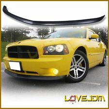 Fit 05-10 Dodge Charger OE STY Polyurethane Front Bumper Lip Spoiler Bodykits