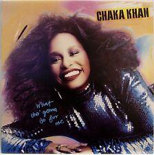 CHAKA KAHN / WHAT CHA GONNA DO FOR ME / SOUL / R&B / WARNER PIONEER JAPAN