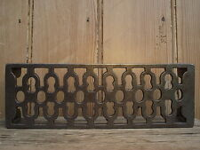 Vintage Style Cast Iron Air Vent Brick / Trivet suits reclaimed bricks beam fire