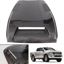 HOOD SCOOP Bonnet Cover Trim Vent Fit Ford Ranger Facelift Wildtrak space gray