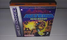 METROID ZERO MISSION (ADVANCE) (CAJA + INTERIOR) (ONLY BOX)