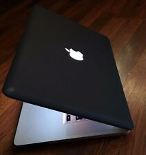 ●CUSTOM BLACK Apple MacBook PRO 15●750GB SSD Hybrid●8GB RAM●Intel C2D @ 2.80GHZ●