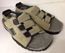 Rare! ADIDAS Tan Suede Water Hiking Sport Sandal Shoe Men US6 UK5 Adhesive