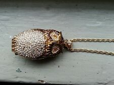 Victoria wieck owl watch necklace