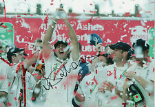 MICHAEL VAUGHAN Signed 12x8 Photo ENGLAND CRICKET ASHES Proof COA