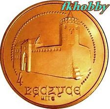 Poland Lęczyca 2008 coins 4 łęczyce