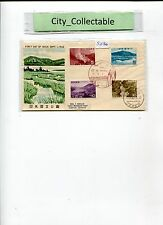 1962 JAPAN'S FDS - NIKKO THE 2ND NATIONAL PARK WITH NIKKO POSTMARK # S030