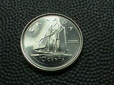CANADA    10 cents   2006  -  ML     UNCIRCULATED