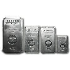 Geiger Silver Bar Variety Pack (Security Line Series)