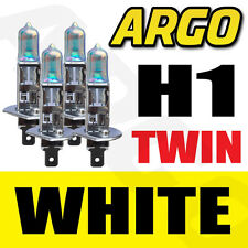 4 x H1 Xenon Ice White 55w bombillas Doble Twin Pack Set Faros Kit De Reemplazo