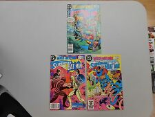 World's Finest Comics lot of 3! #'s 303-305! VF8.0 to NM range DC beauties! LOOK