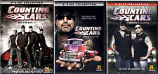 Counting Cars DVD Lot Seasons 1 & 2 (Volumes 1 & 2) 6 Disc Set 39 episodes NEW