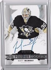 2015-16 PREMIER ROOKIE MATT MURRAY AUTO RC #049/399 PENGUINS